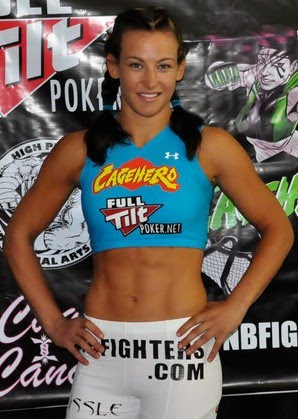 Miesha+Tate+Fight+Weight+In+Hot