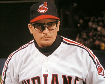Ricky+Vaughn+Charlie+Sheen+Major+League+Cleveland+Indians