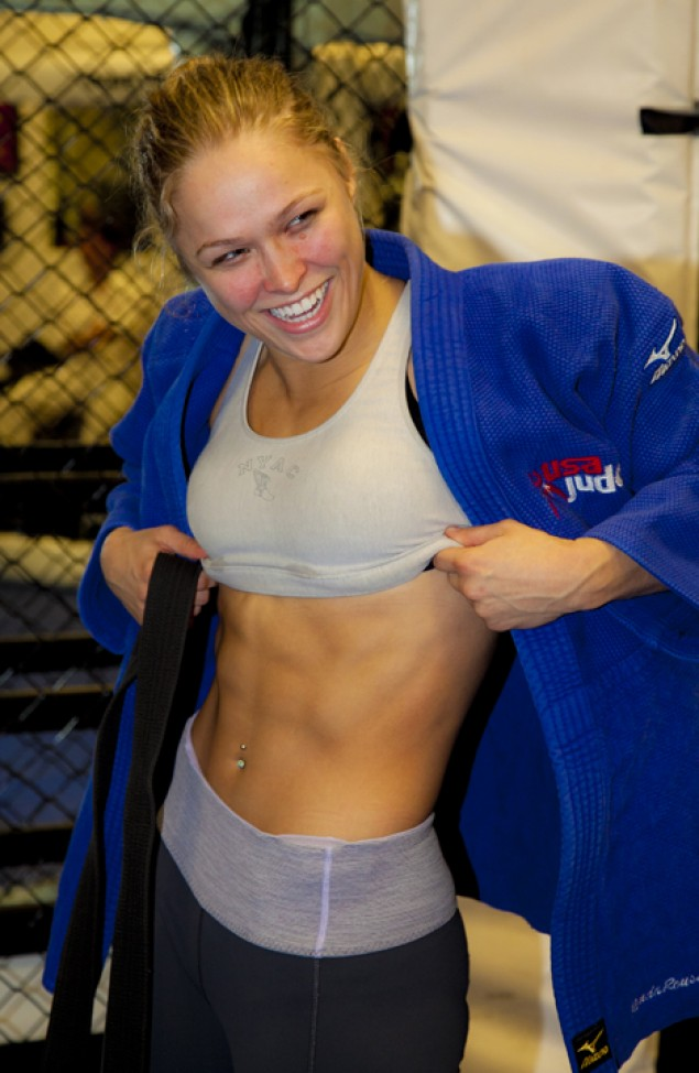 Sports Crush Ronda Rousey
