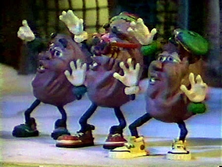 California Raisons Cartoons