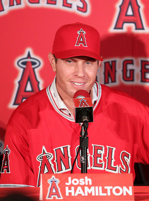 Josh+Hamilton+Los+Angeles+Angels+2013