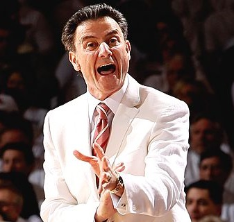 Mad+Rick+Pitino+White+Suit+Louisville