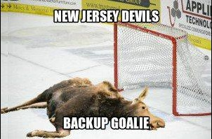 NHL+NJ+Devils+Backup+Goalie+MEME+Moose