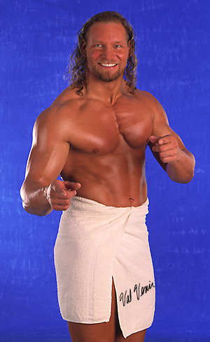 Val Venis-WWF-WWE-Towel