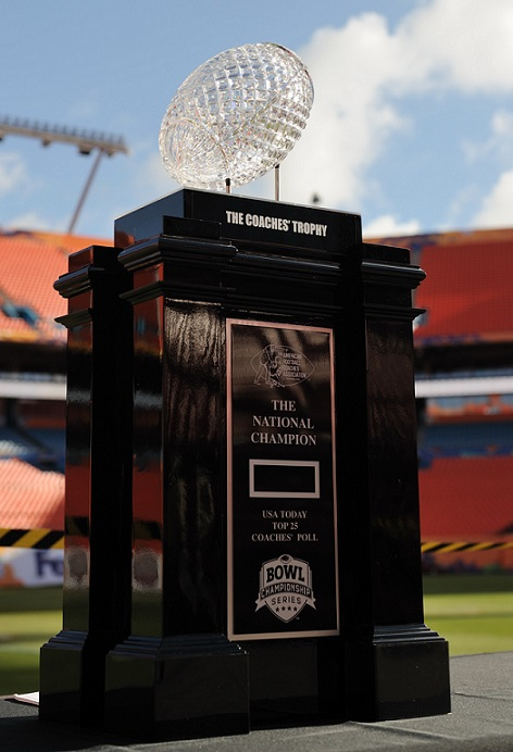 BCS Coaches Trophy 2013 NCAA College Football