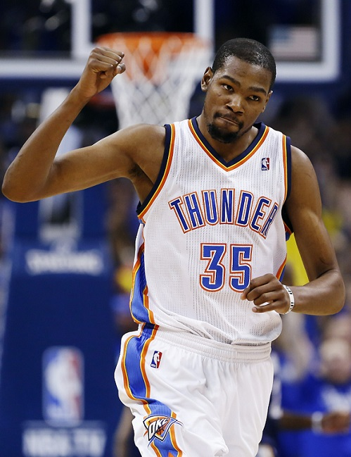 Kevin Durant Bad Nickname Slim Reaper The Servant NBA Oklahoma City Thunder