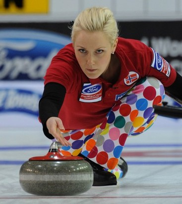 Norway Olympics Curling Blonde