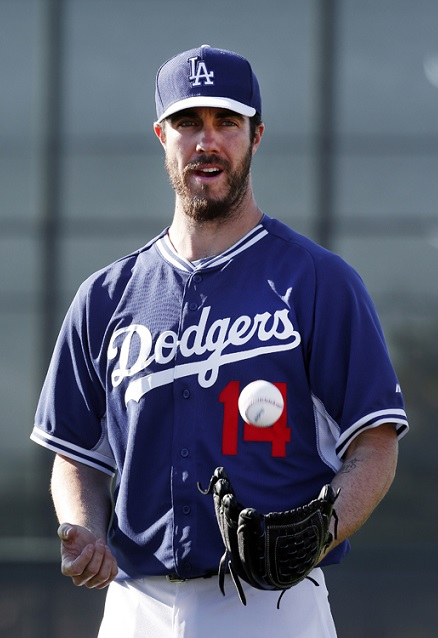 Dan Haren Los Angeles Dodgers 2014