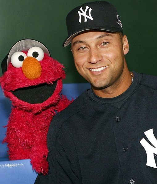 Derek Jeter Elmo New York Yankees MLB Fantasy Baseball Shortstops Rankings 2014