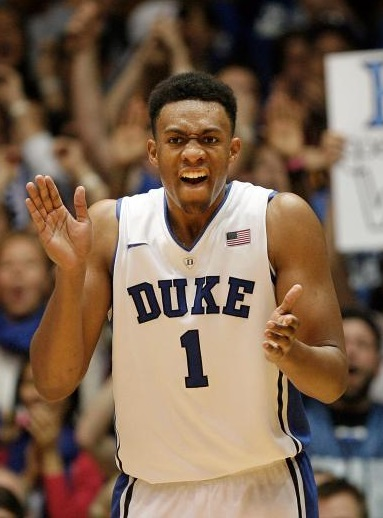 Jabari Parker Duke Blue Devils 2014 NBA Draft