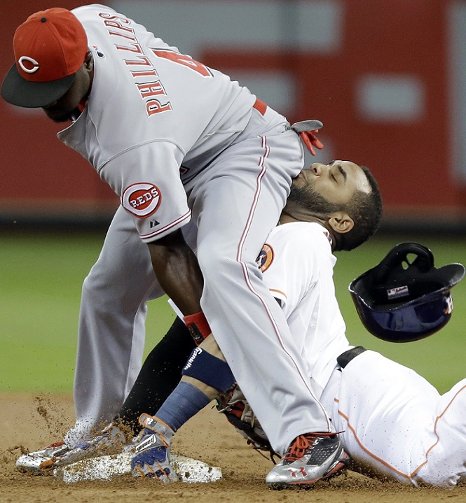 Jonathan Villar Brandon Phillips butt face Houston Astros 2014 MLB Team Preview