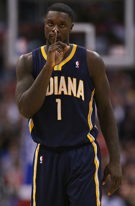 Lance Stephenson Indiana Pacers 2014 NBA Contenders