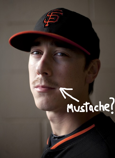 Tim Lincecum Bad Mustache San Francisco Giants 2014 MLB Team Preview