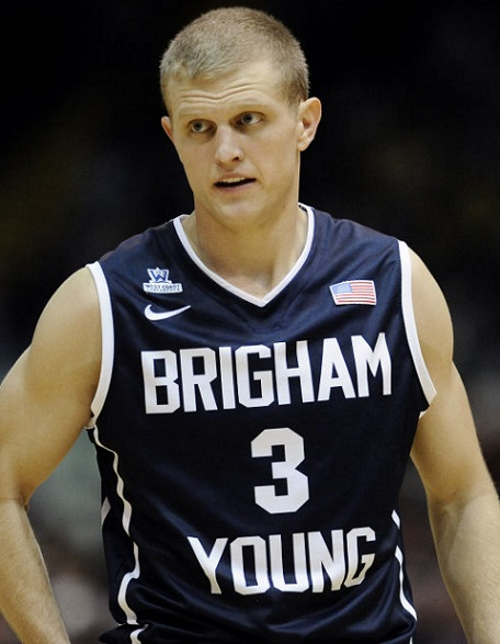 Tyler Haws BYU Cougars 2014 NCAA Tournament