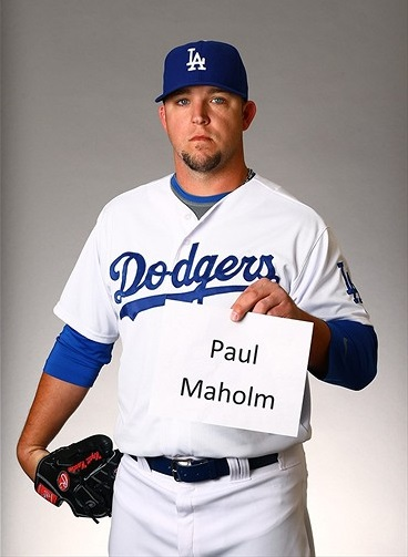 Paul Maholm Los Angeles Dodgers MLB Weird Pronounciation