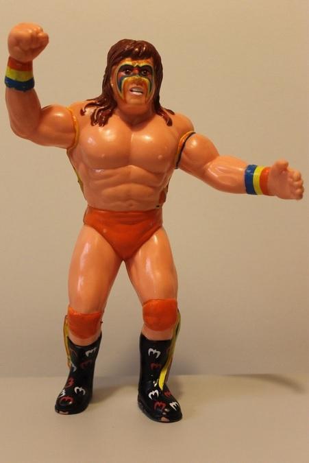 Ultimate Warrior LJN 1989 Toy WWF WWE Action Figure