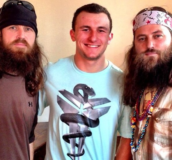 johnny Manziel Duck Dynasty Funny Dallas Cowboys NFL