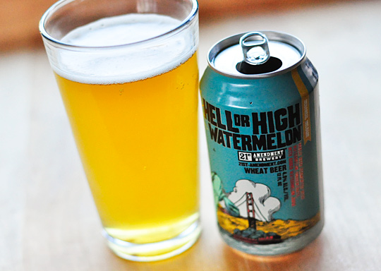 21st Amendment Hell or High Watermelon 2014 Best Summer Beers