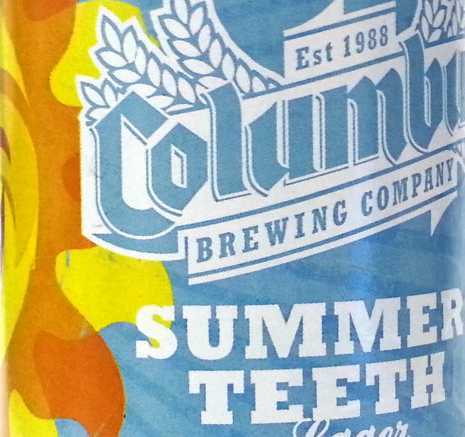 Columbus Brewing Company Summer Teeth 2014 Best Summer Beers