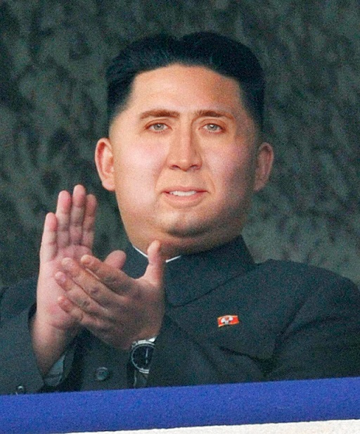 Nicolas Cage Kim Jong-Un Funny face faceoff switch North Korea weird strange odd