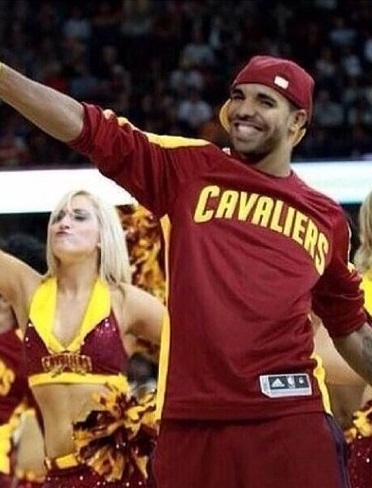 Drake Cleveland Cavaliers Funny Manziel LeBron James NBA