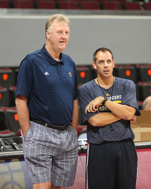 Larry Bird Frank Vogel Indian pacers sad funny nba