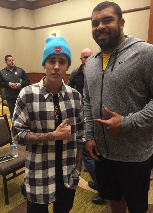 Justin Bieber Cameron Heyward NFL Pittsburgh Steelers curse funny douche