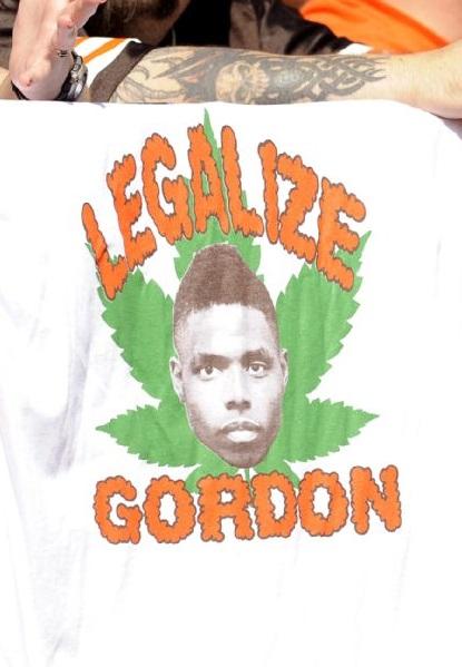 Legalize Josh Gordon Cleveland Browns funny tshirt NFL weed marijuana