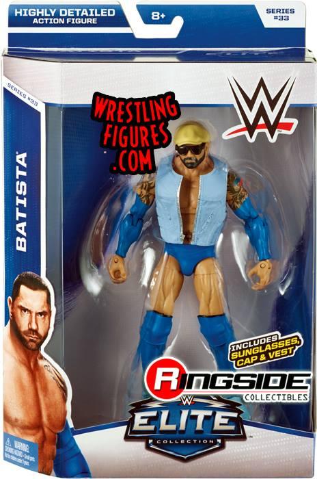 Batista WWE Elite 33 Bluetista Evolution wrestling toy