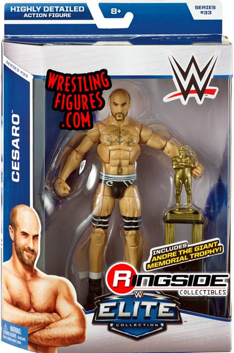 Cesaro WWE Elite 33 Mattel Andre the Giant wrestling toy