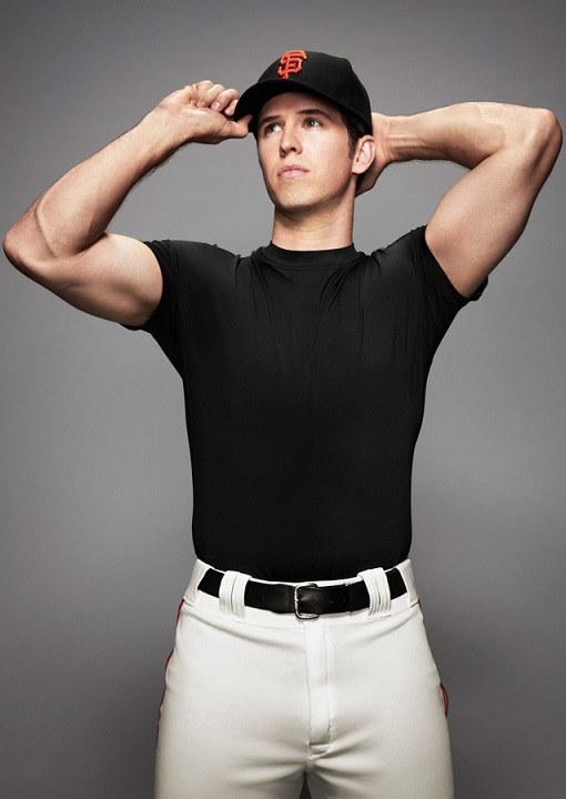 2015 Top 30 Fantasy Catchers Fantasy Baseball Rankings Buster Posey weird shirtless