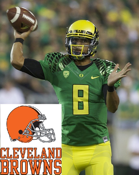 Marcus Mariota Oregon Ducks Cleveland Browns 2015 NFL Draft Heisman