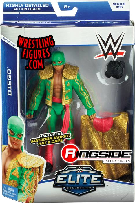 WWE Elite 35 Diego Los Matadores Mattel Elite toys action figures 2015