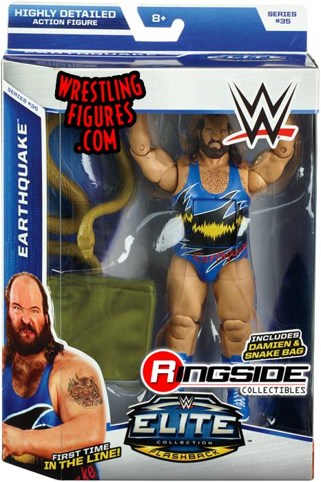 WWE Elite 35 Earthquake John Tenta Flashback Mattel Elite toys action figures 2015
