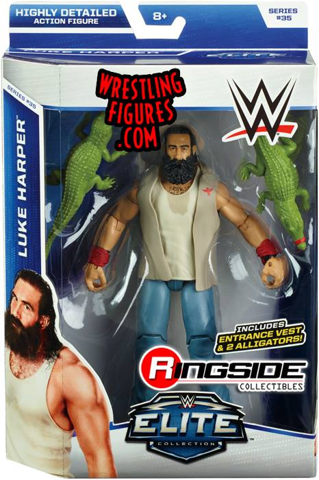WWE Elite 35 Luke Harper Wyatt Family Mattel Elite toys action figures 2015