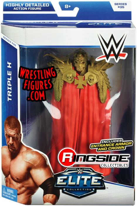 WWE Elite 35 Triple H HHH Evolution Mattel Elite toys action figures 2015