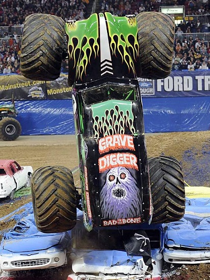 Grave Digger Monster Truck monster jame tall picture