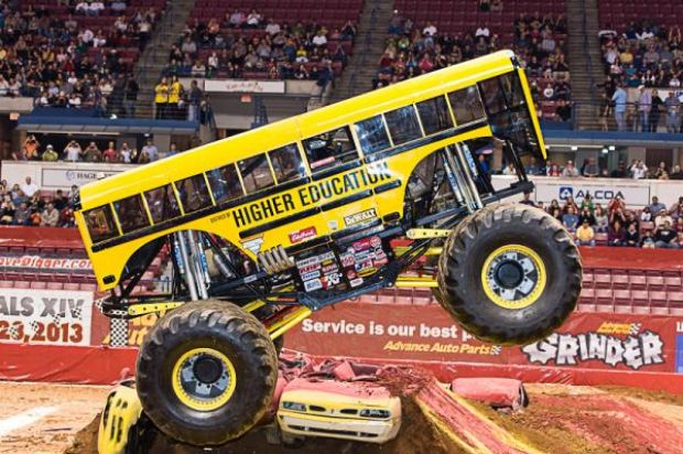 Higher Education monster truck monster jam