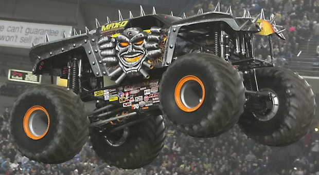 Maximum Destruction Max-D monster truck monster jam