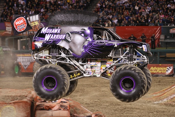 Mohawk Warrior monster truck monster jam