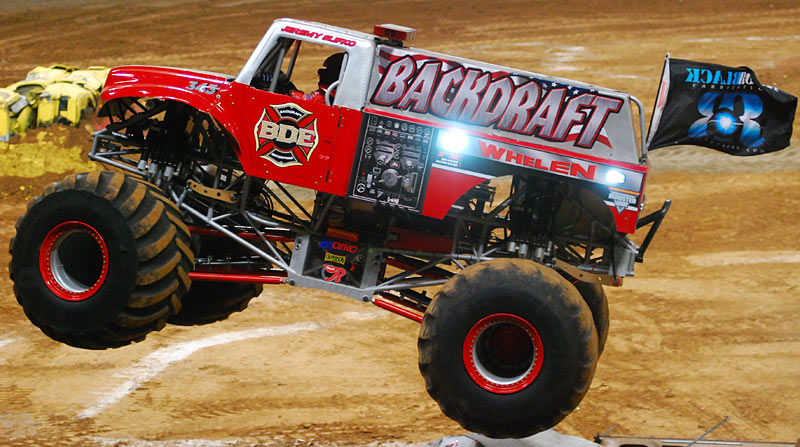 backdraft monster truck monster jam