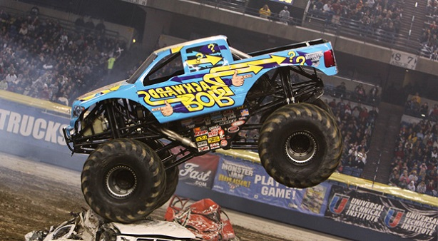 backwards Bob Monster Trucks Monster Jam
