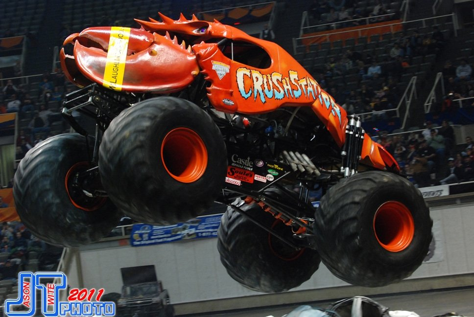 crushstation monster truck monster jam