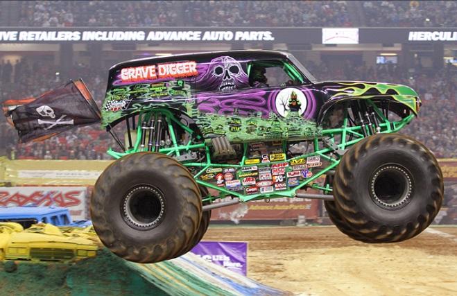 gravedigger monster truck monster jam