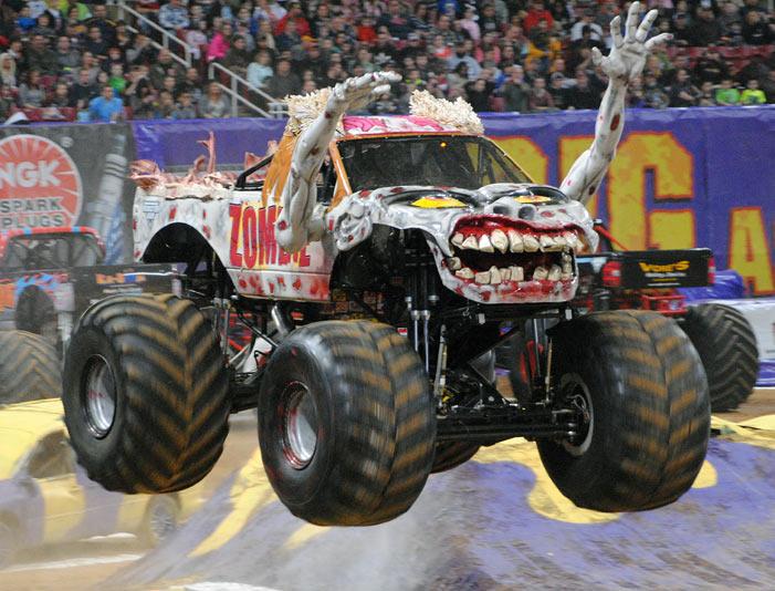 zombie monster truck monster jam