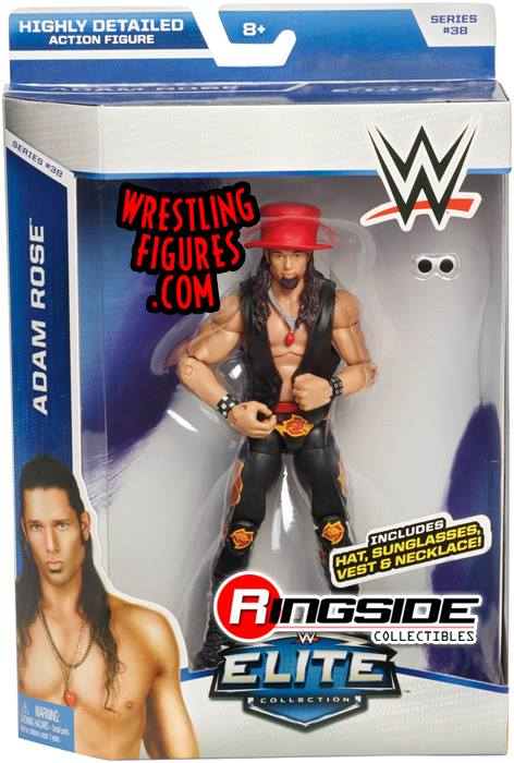 Adam Rose WWE Elite series 38 Mattel wrestling toys