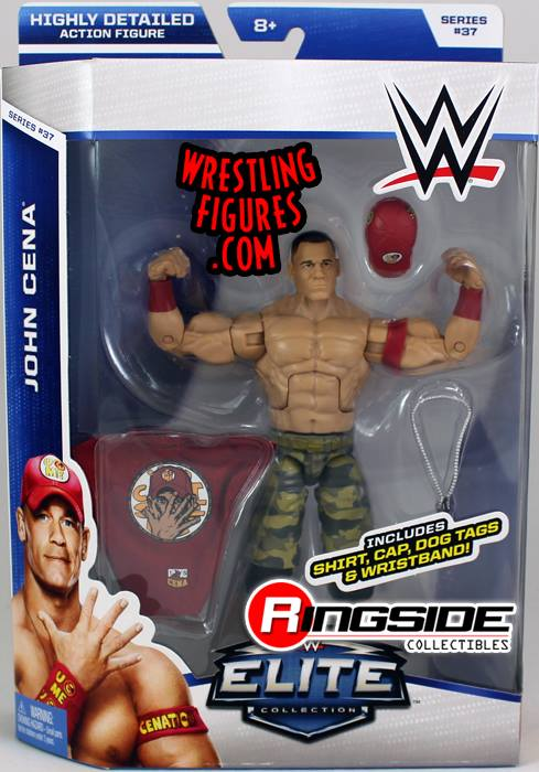 Elite 37 John Cena Night of Champions WWE Mattel toys