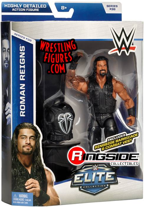 Roman Reigns WWE Elite series 38 Mattel wrestling toys