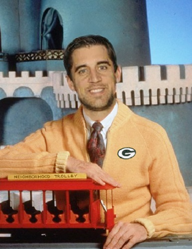 green bay packers 2015 NFL team preview funny aaron rodgers mr rogers neighborhood
