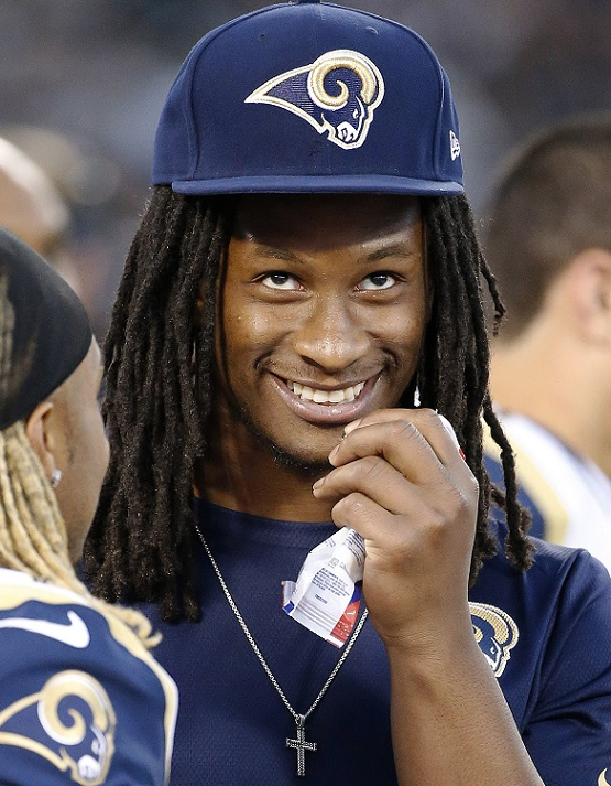 Todd Gurley St Louis Rams funny 2015 NFL picks against the spread america's white boy